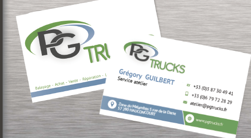Agence De Communication Creation Graphique Carte Visite